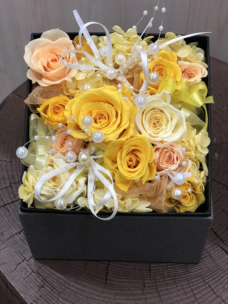 ボックス花束